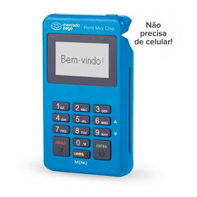 Maquina De Cartao Point Mini Chip | Não Precisa Celular