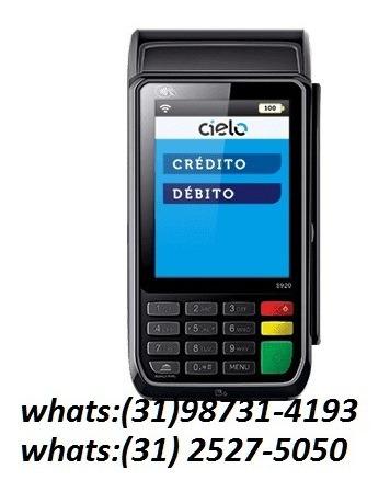 maquina de cartão de credito da cielo flash