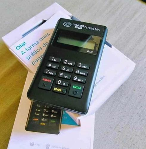 máquina de cartão do mercado pago point mini