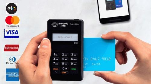 maquina de cartão mercado pago - leitor de cartões minizinha