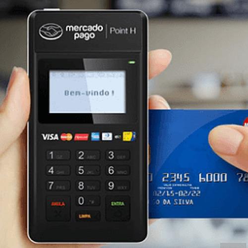 máquina de cartão mercado pago point h maquininha