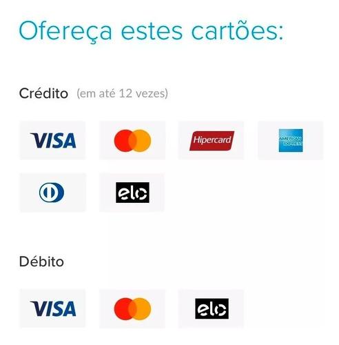 máquina de cartão sem mensalidade | mercado pago point