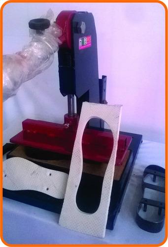 maquina de chinelo completa corte único movimento promoção