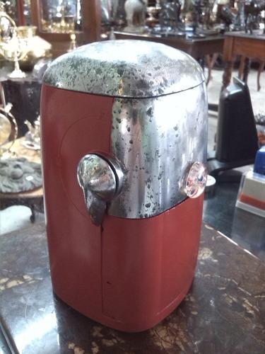 maquina de cholado antigua metalica marca ice o mat u.s.a
