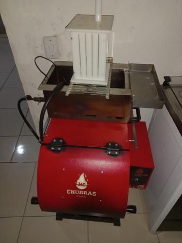 máquina de churrasco (rimaq)