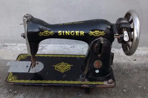 maquina de cocer antigua marca singer antiguedades