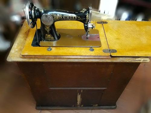 maquina de cocer singer antigua