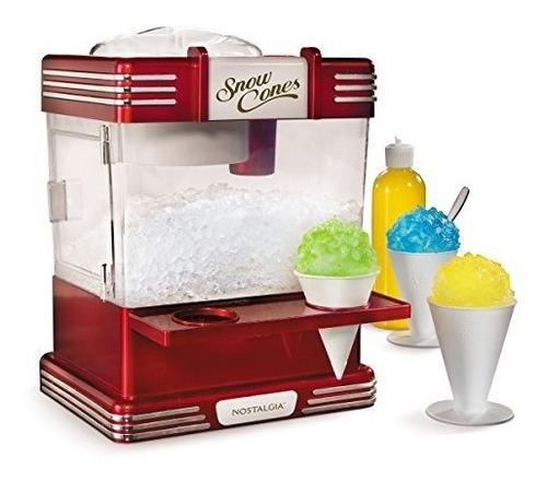 máquina de cono de nieve nostalgia electrics rsm602 retro