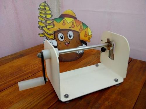 máquina de cortar batatas e legumes espiral