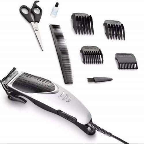 Máquina De Cortar Cabelo Aparar Barba 4em1 1 Ano Garantia