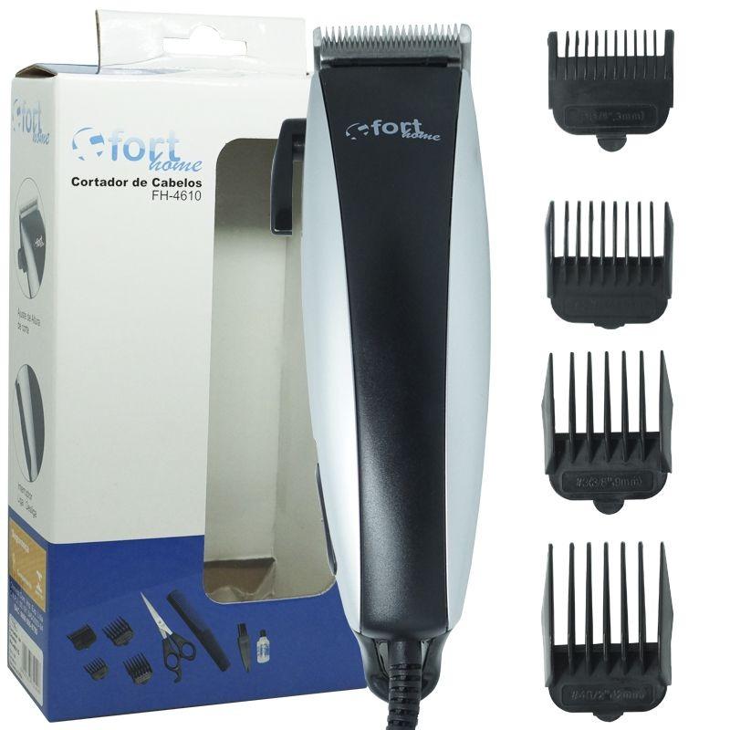 Máquina De Cortar Cabelo Aparar Pezinho Barba Elétrica 110v