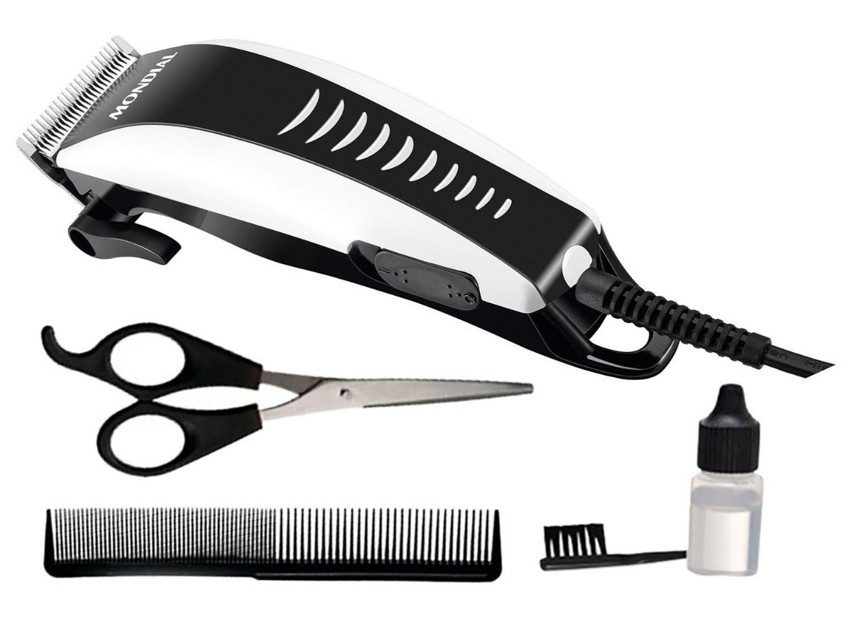 a33e95c37 maquina de cortar cabelo barba mondial cr-06 hair stylo 127v. Carregando  zoom.
