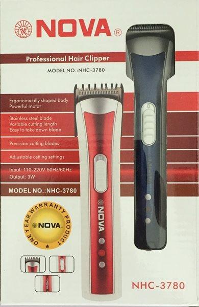 Maquina De Cortar Cabelo Barba Pelos - Marca Nova Nhc - R  22 ec9450e2a6fb