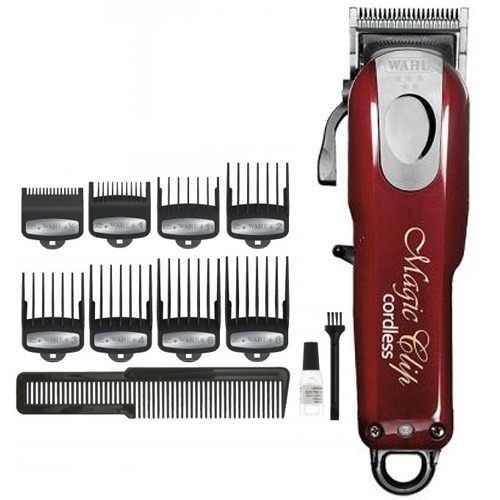 2c587a56c maquina de cortar cabelo bateria wahl magic clip cordless · maquina cortar  cabelo. Carregando zoom.
