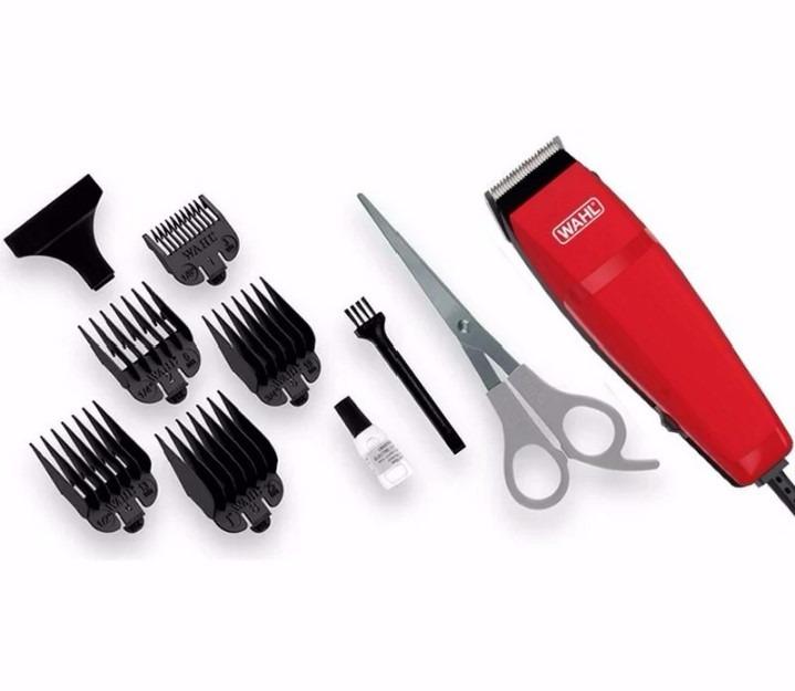 Armario Escritorio Preto ~ Máquina De Cortar Cabelo Easy Cut 110v Vermelho Wahl R$ 72,43 em Mercado Livre
