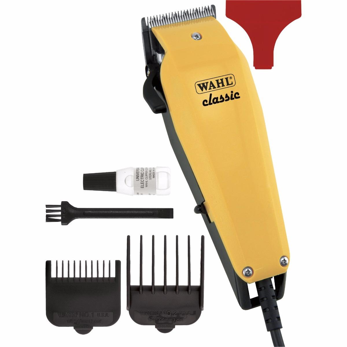 ec09f2601 máquina de cortar cabelo wahl brasil classic 127v amarela. Carregando zoom.