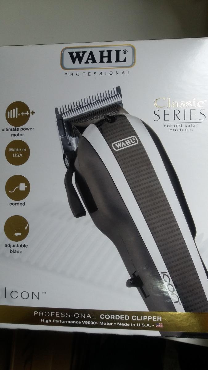 bd64f906d maquina de cortar cabelo wahl icon v9000 110 volts p entreg. Carregando  zoom.