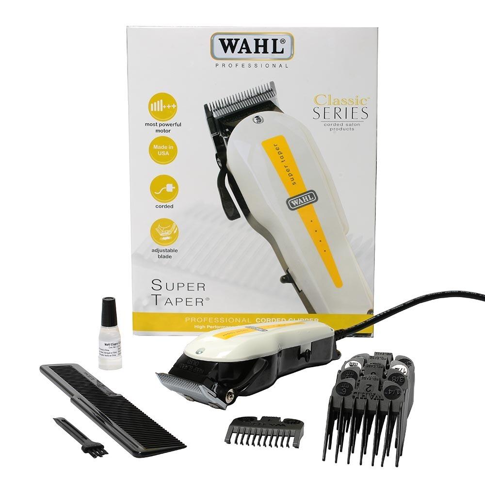 243716e82 maquina de cortar cabelo wahl profissional super taper 127v. Carregando zoom .