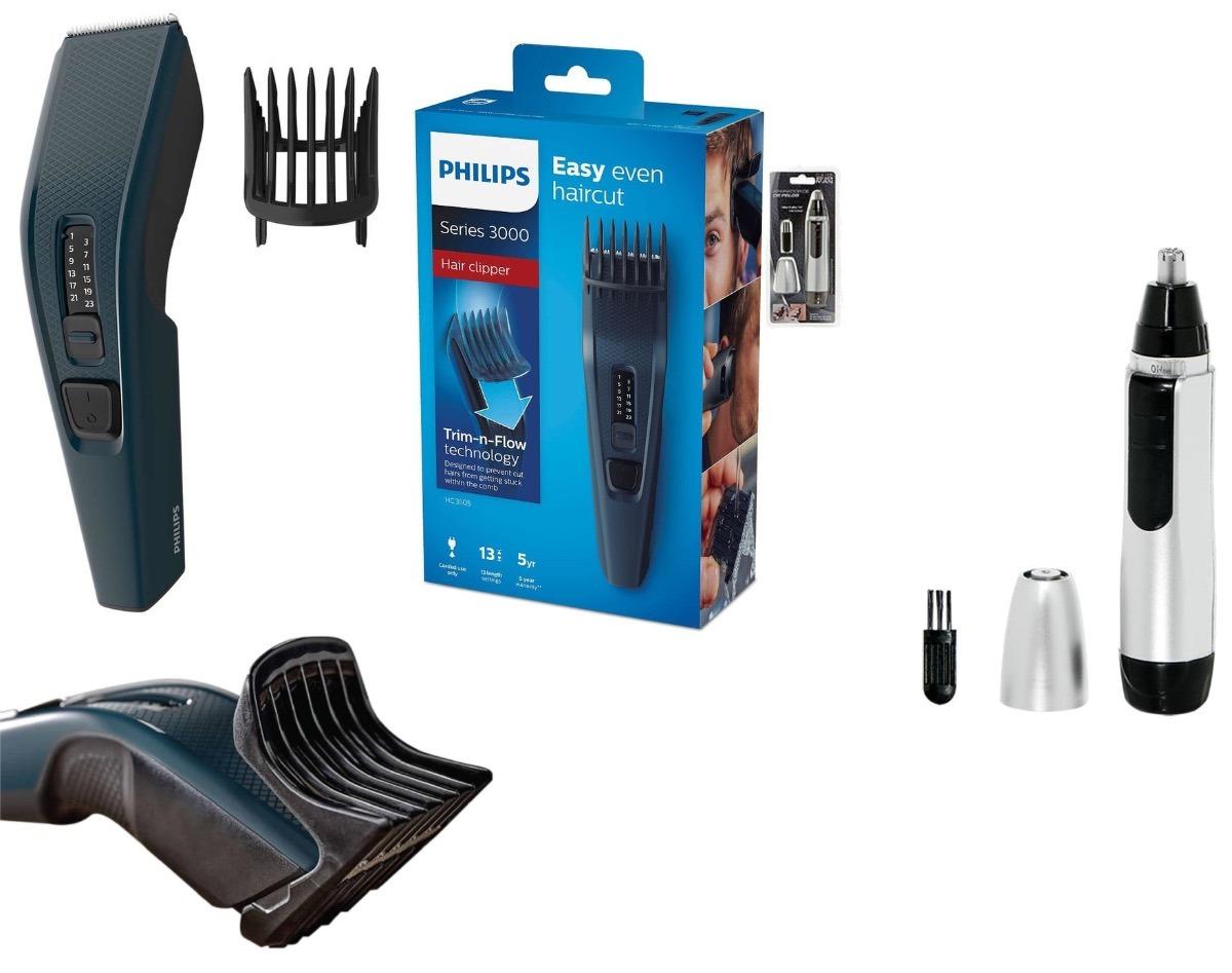 0cf28fa34 máquina de cortar cabelo/barba philips hairclipper hc3505/15. Carregando  zoom.