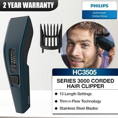 b8b9e99a8 Máquina De Cortar Cabelo/barba Philips Hairclipper Hc3505/15 - R ...
