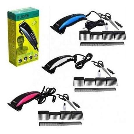 maquina de cortar el pelo y barba suoke maquina patillera