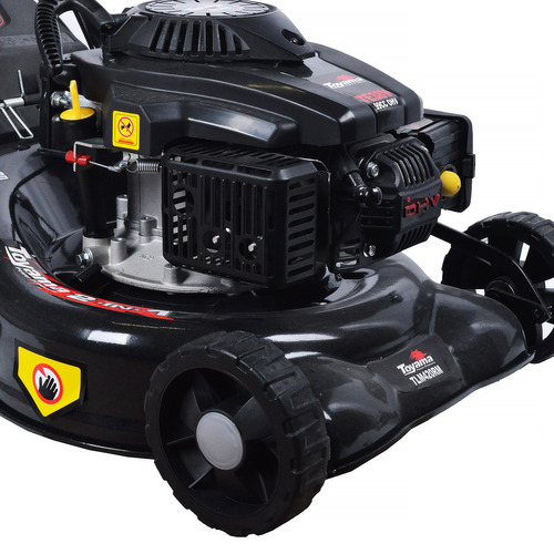 máquina de cortar grama a gasolina 3,5hp tlm420rm-38 toyama