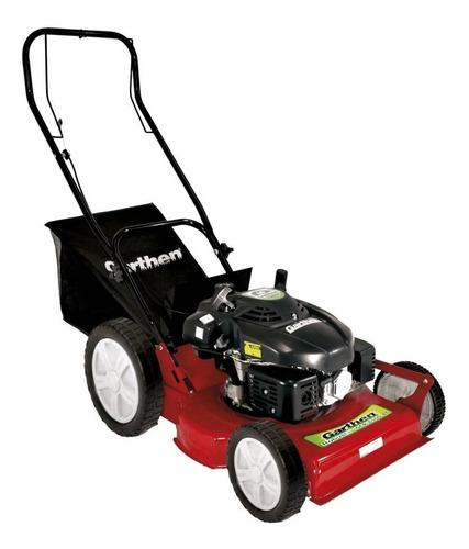 máquina de cortar grama à gasolina c/ rec gr-6000c garthen