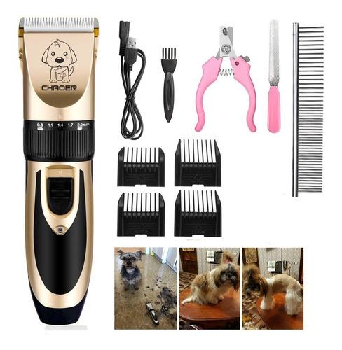 maquina de cortar pelo mascotas,perros,gatos garantía