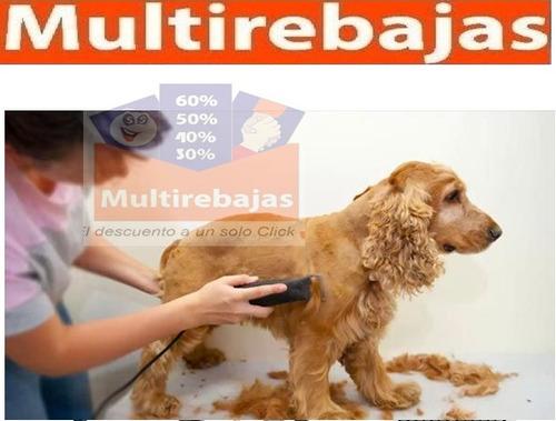maquina de cortar pelo para perro bajo ruido y vibración