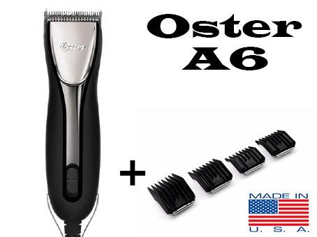 Maquina De Cortar Pelo Profesional Oster A6 (3 Vel.) U.s.a -   7.500 ... ceb220243751