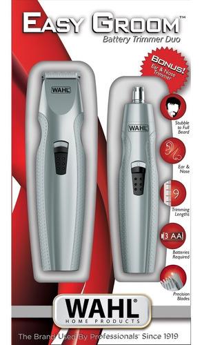maquina de cortar pelo wahl barba nariz y oido easy groom
