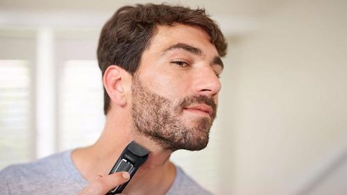 maquina de cortar pelo y cortabarba philips mg3730