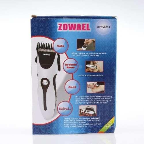 máquina de cortar pelo zowael, para perros y gatos
