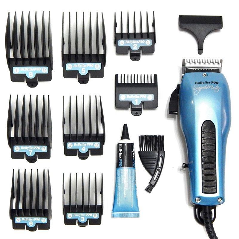 Máquina De Corte Babyliss Pro Super Motor - Azul 127 Ou 220v - R  321 068e78ac0dbe