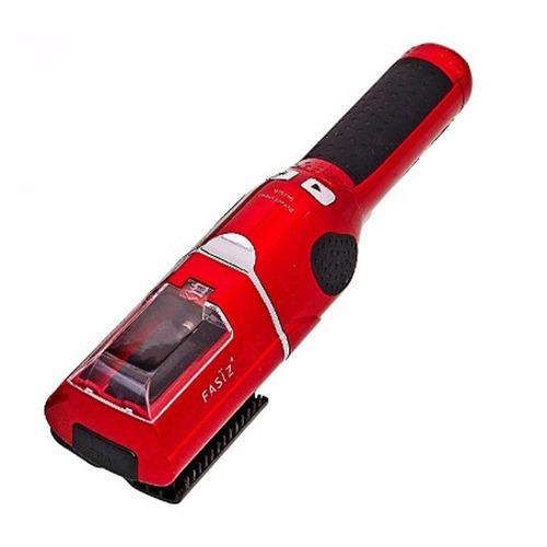 maquina de corte bordado fasiz vermelha/preta + brinde
