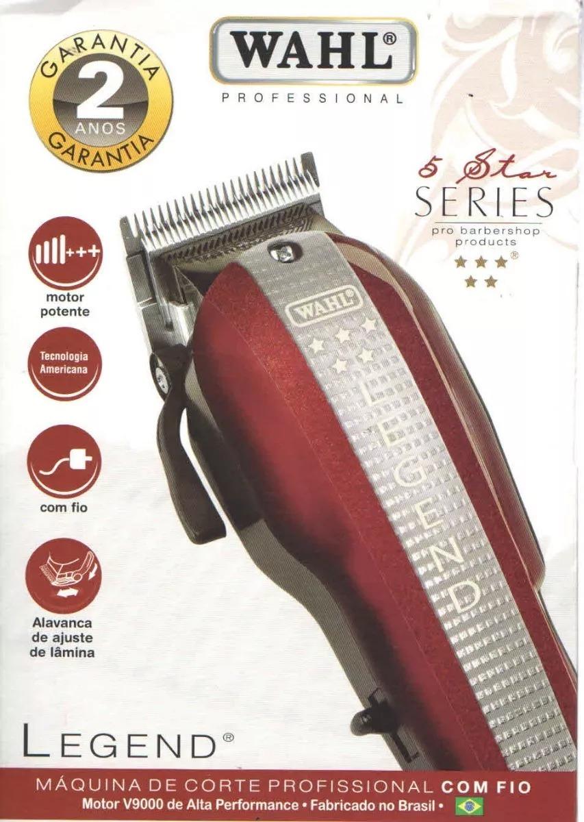 c31ca02a8 maquina de corte cabelo legend wahl original v9000 220v. Carregando zoom.