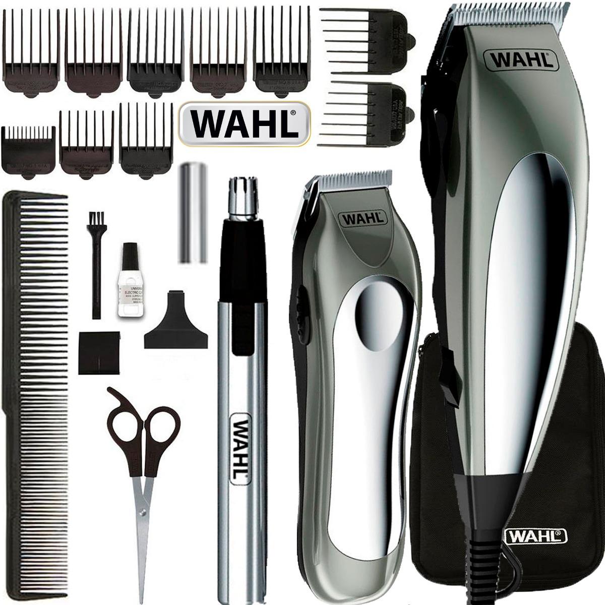 1b5216c5f maquina de corte cabelo wahl barba orelha nariz groom pro. Carregando zoom.