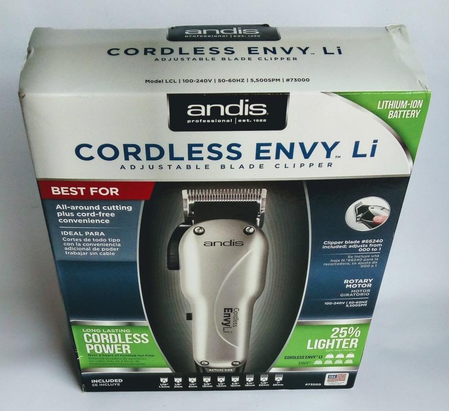 288d2d782 Maquina De Corte De Cabelo Cordless Envy Li - R$ 449,99 em Mercado Livre