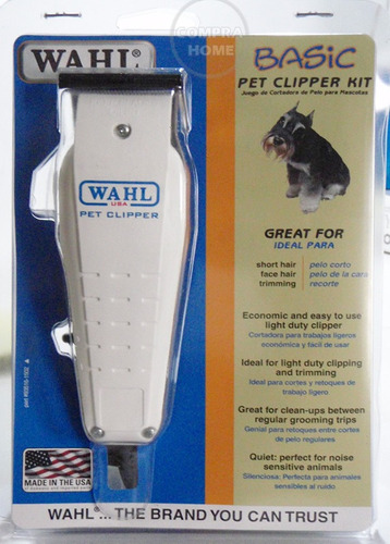 maquina de corte para perro wahl silenciosa 5 pz