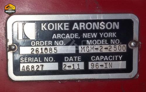 máquina de corte plasma - koike / 2011