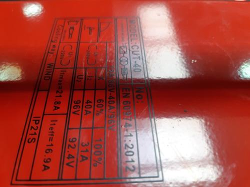 maquina de corte por plasma cut 40 mykkon