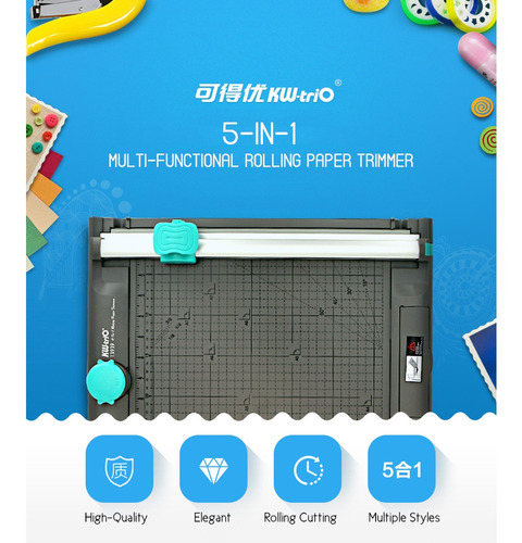 máquina de corte rotativa de papel multifuncional