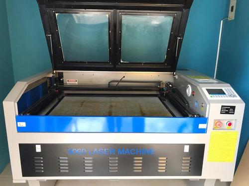máquina de corte y grabado laser co2 6090 80w ctrl ruida