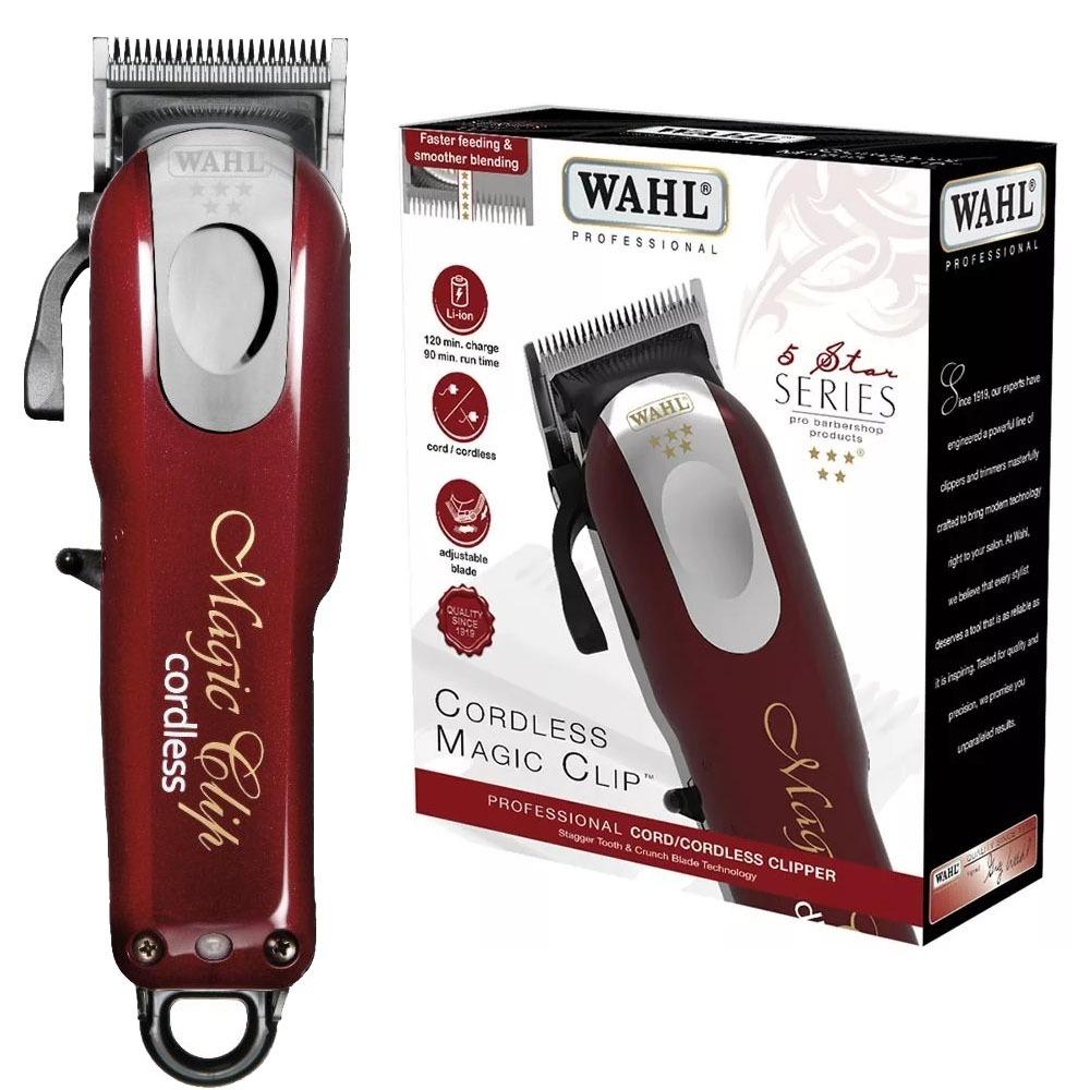 9dc90642b Máquina De Cortes Wahl Magic Clip Cordless 110v - R$ 785,00 em ...
