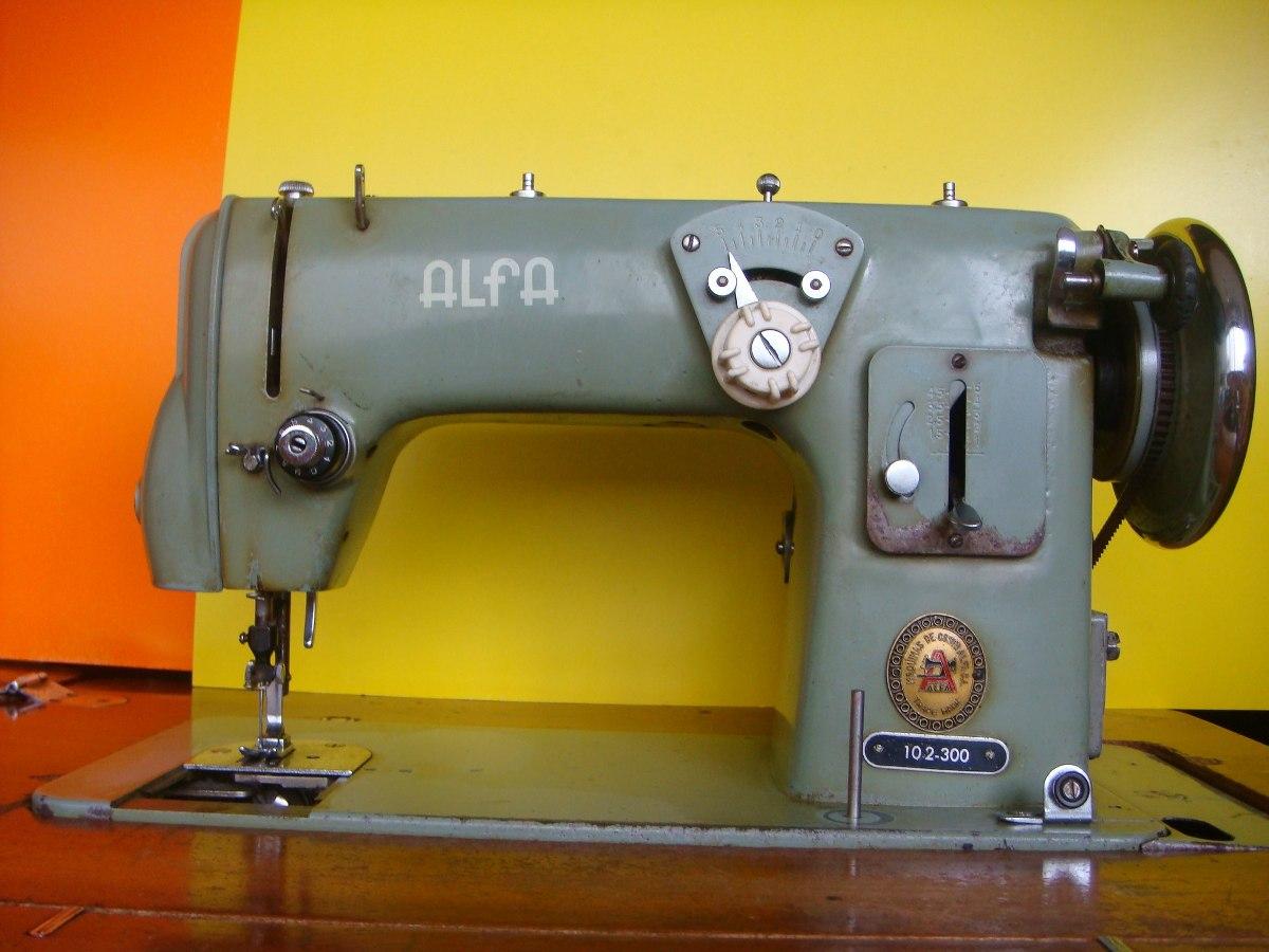Máquina De Coser Alfa Modelo 102-300 (usada) - Bs. 3,00 en