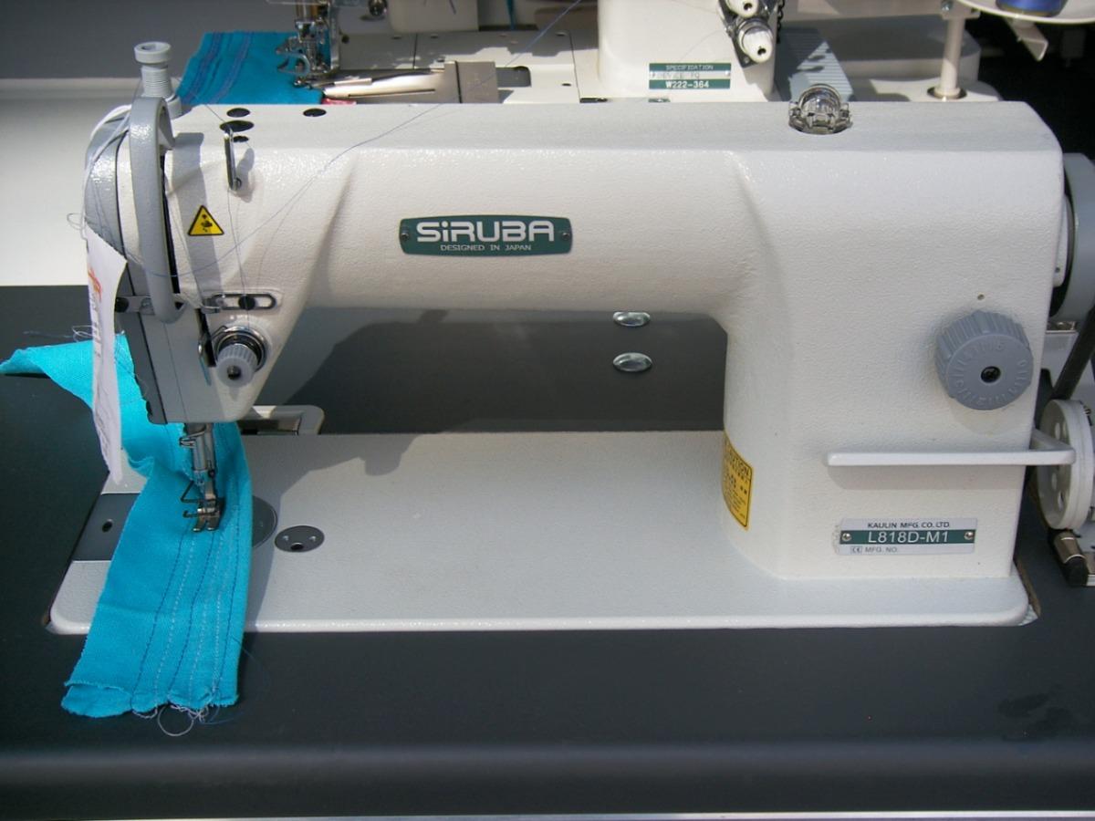 004bc0b7ab2 Maquina De Coser Alta Velocidad Costura Recta Marca Siruba ...