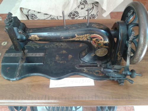 Maquina De Coser Antigua Seidel & Naumann 1885 - $ 3,900