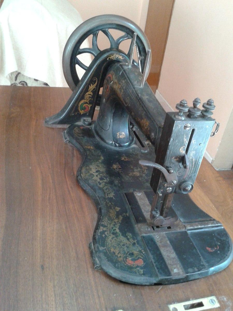 Maquina De Coser Antigua Seidel & Naumann 1885 - $ 3,500