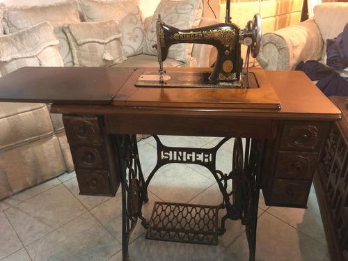 máquina de coser antigua singer