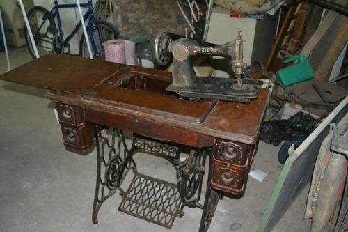 maquina de coser antigua singer funciona